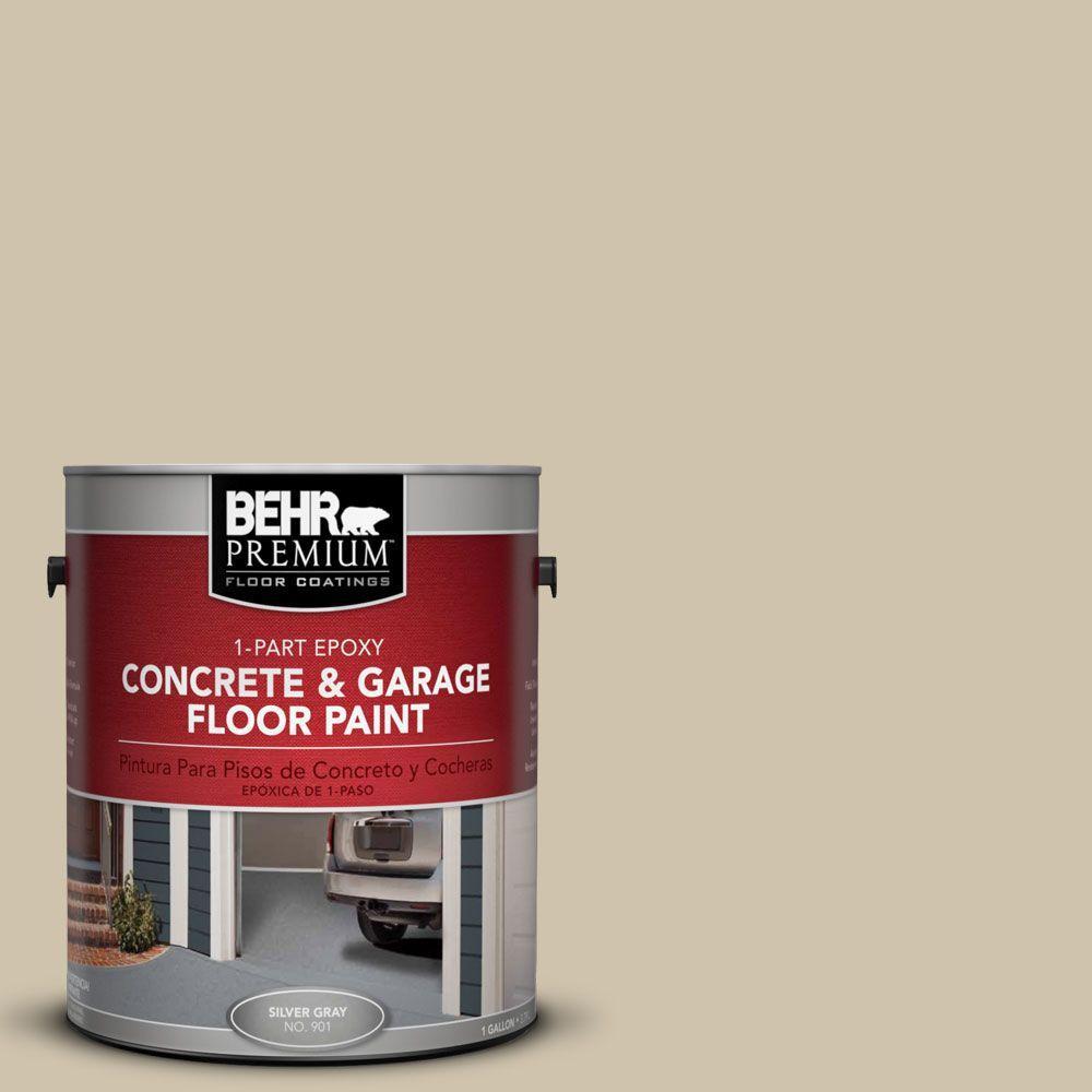 1 gal. #PFC-27 Light Rattan 1-Part Epoxy Concrete and Garage Floor Paint