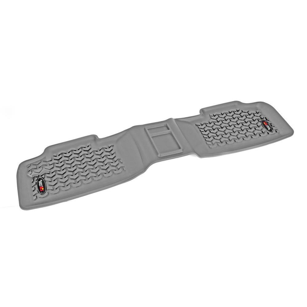 Floor Liner Rear 1-Piece Gray 2011-2014 Jeep Gr and Cherokee WK2