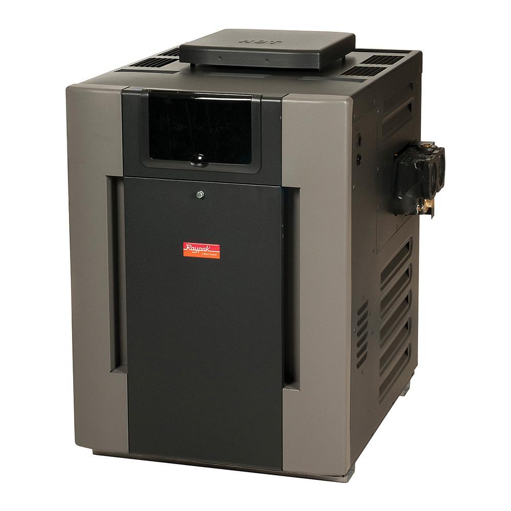 Raypak PR337ALENC26 332,500 BTU Heater Electronic Ignition - Low NOx - NG