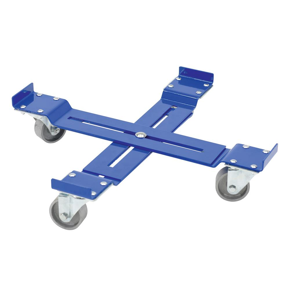 1200 lb. Capacity Mobile Drum Dolly - Adjustable
