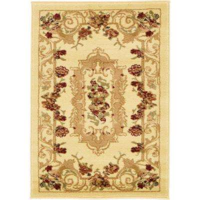 Versailles Henry Ivory 2' 2 x 3' 0 Area Rug