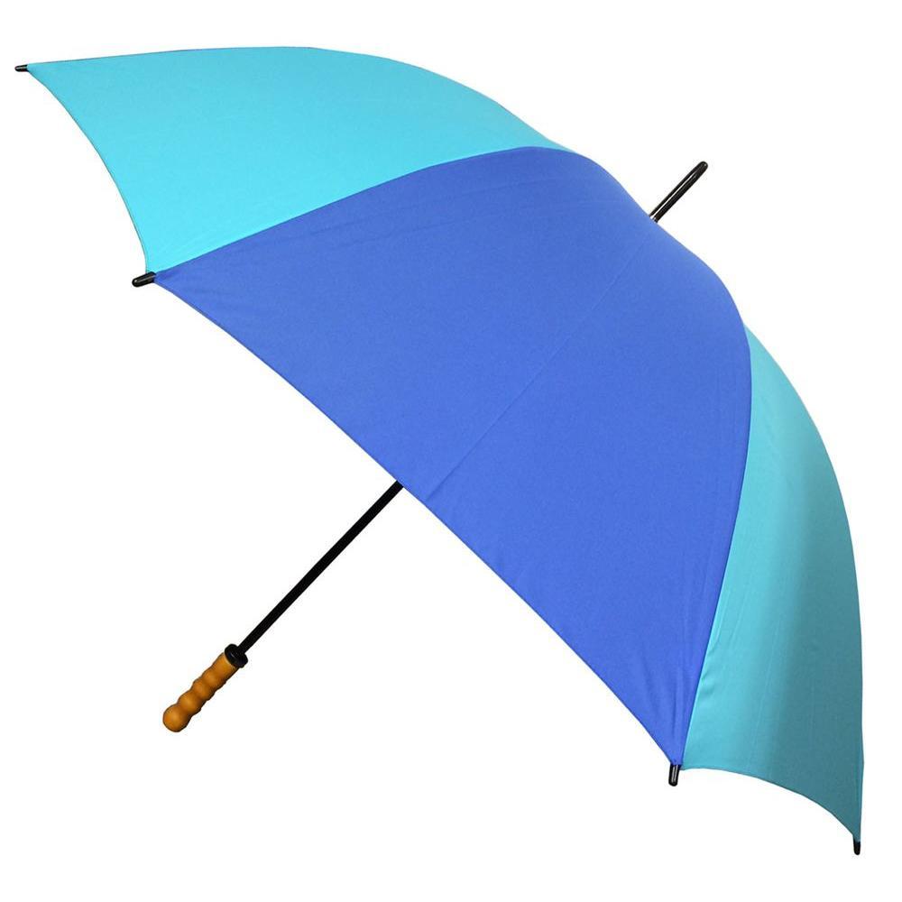 Kingstate 60 in. Arc Classic Sport Stick Umbrella in Navy/Blue