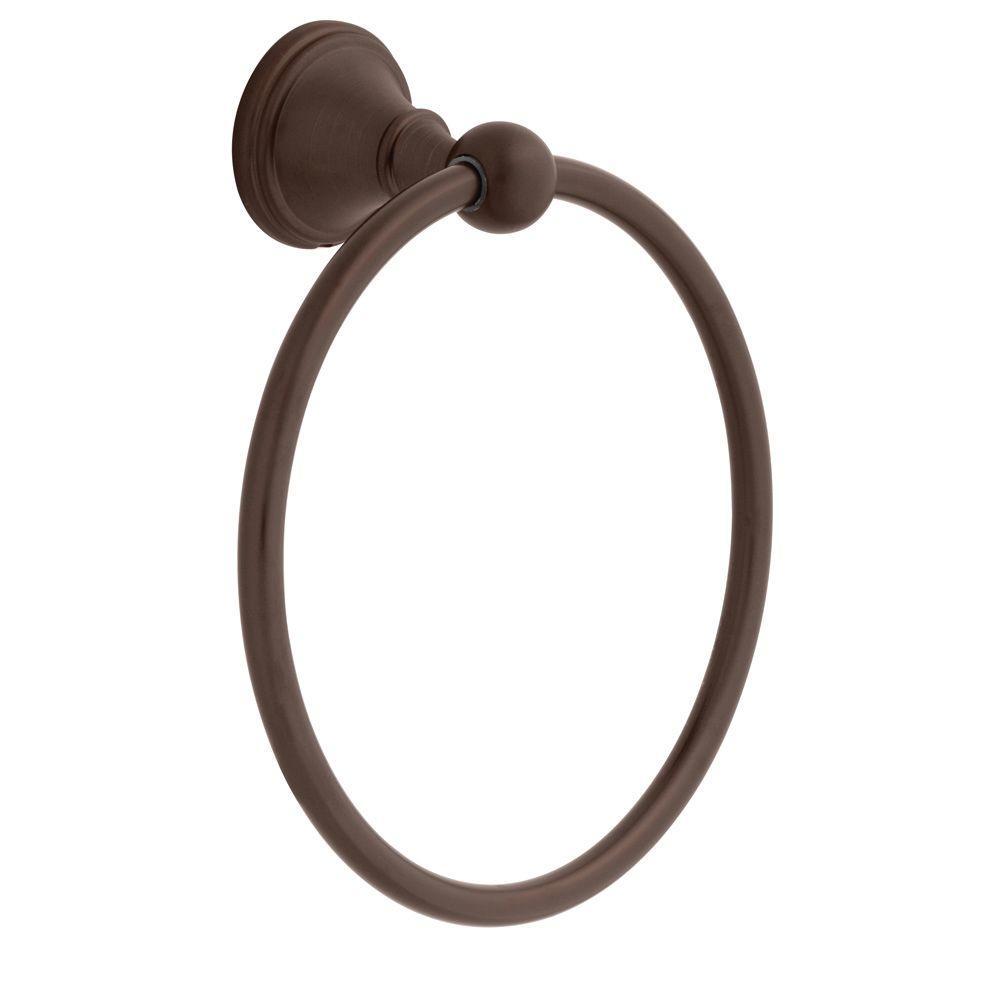 Crestfield Towel Ring in Venetian Bronze