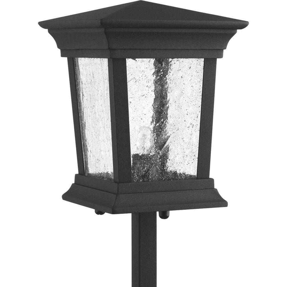 Arrive Collection 1-Light Black Outdoor Landscape Pathlight