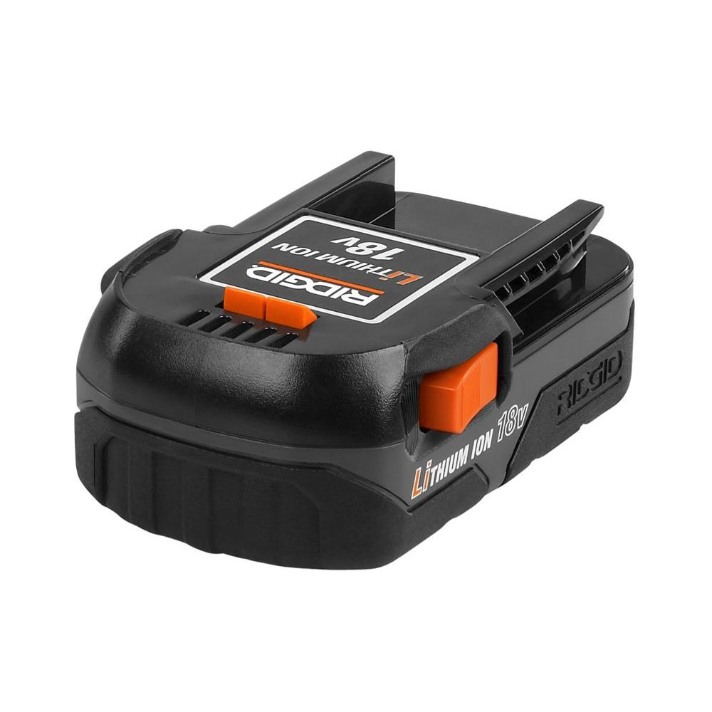 RIDGID Lithium-Ion 18-Volt Compact Rechargeable Battery