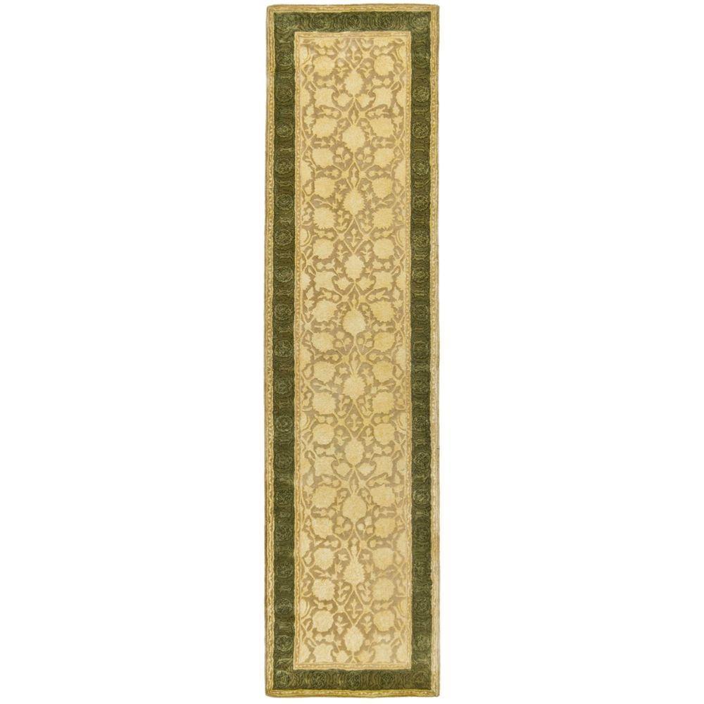 Safavieh Silk Road Ivory/Sage 2 ft. 6 in. x 8 ft. Runner