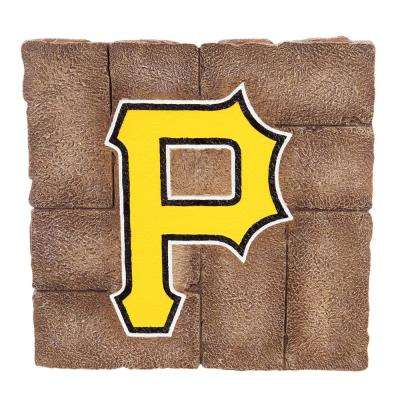 Pittsburgh Pirates 12 in. x 12 in. Decorative Garden Stepping Stone