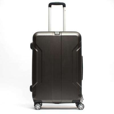 Payload 29 in. Charcoal Upright ABS Plastic Hard Case Spinner Rolling Luggage Suitcase