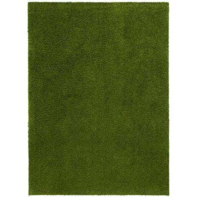 Arcadia 3 ft. 11 in. x 5 ft. 3 in. Artificial Grass Indoor/Outdoor Green Turf