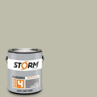 Category 4 1 gal. Natural Clay Matte Exterior Wood Siding 100% Acrylic Stain