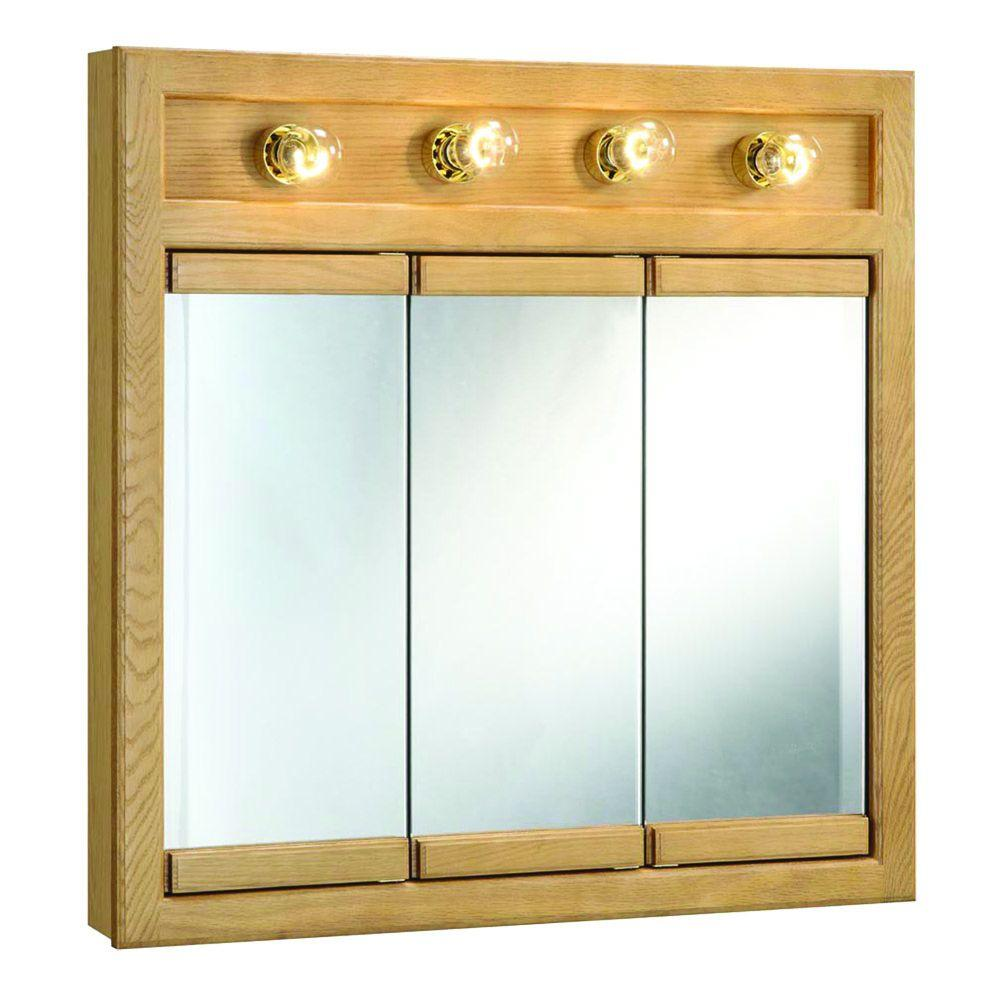 Medicine cabinet with side lights - Richland