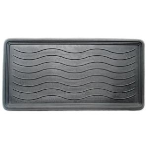 a1hc heavy duty flexible 16 in x 31 in 100 rubber boot tray mat a1hclbt35 the home depot. Black Bedroom Furniture Sets. Home Design Ideas