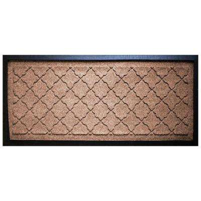Medium Brown 15 in. x 36 in. Cordova Boot Tray