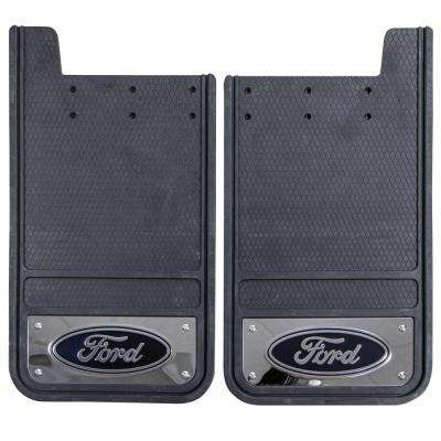 Ford 12 in. x 23 in. Heavy-Duty Rear Mud Guards