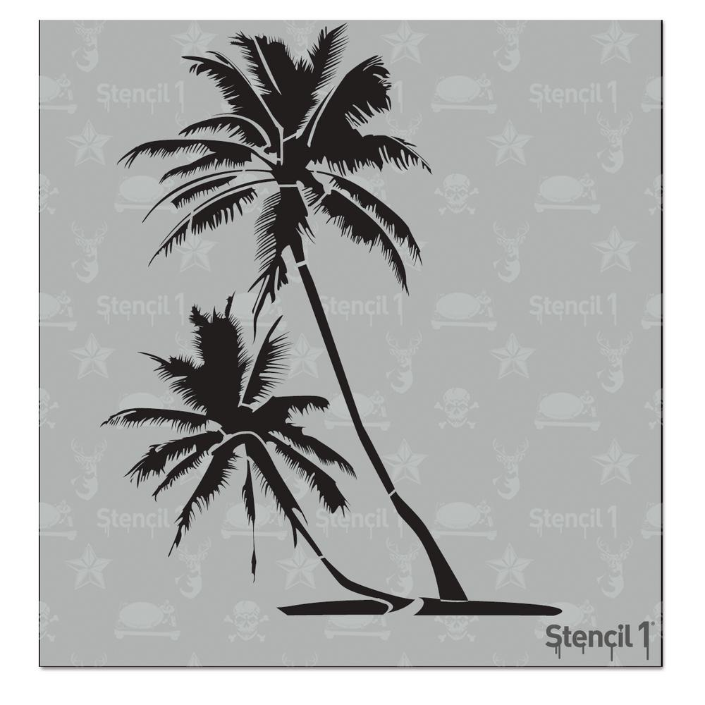 stencil1 palm trees small stencil s1 01 21 s the home depot