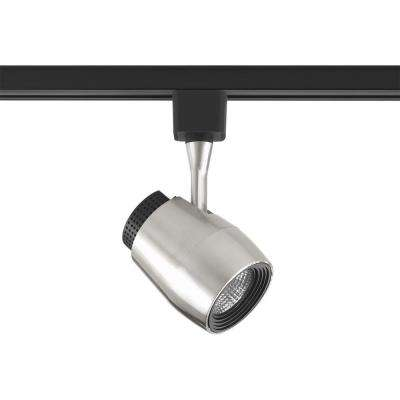 LED Track Collection Brushed Nickel Integrated LED Track Lighting Head