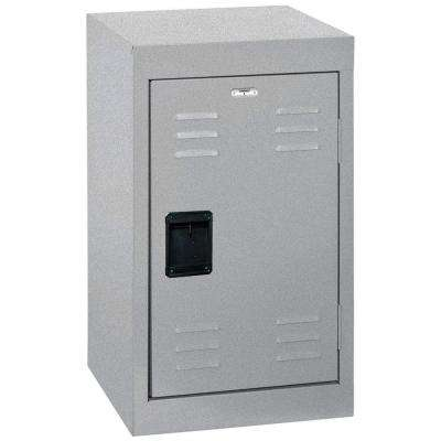 24 in. H Single-Tier Welded Steel Storage Locker in Multi Granite