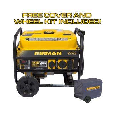 Weekender Performance Series 3650-Watt Gas Powered Manual Start Portable Generator with Firman Engine