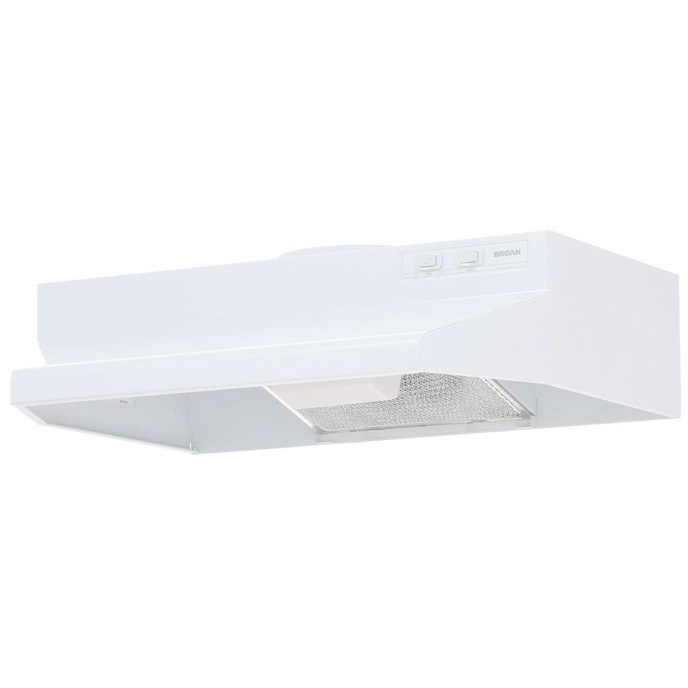 Kitchen Vent Duct: 42000 Series 24 In Range Hood White Externally Vented