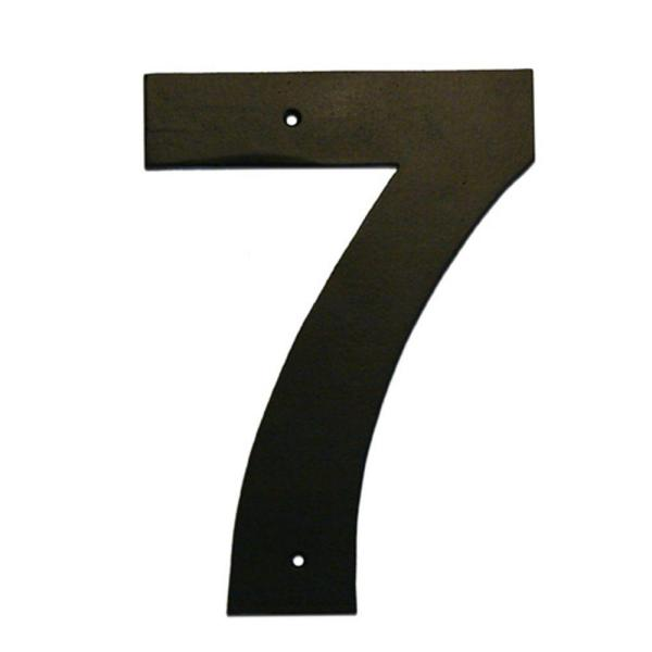 Montague Metal Products 8 In Helvetica House Number 7 Hhn 7 8 The Home Depot