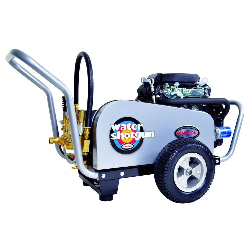Water Shotgun 5,000 psi 5.0 GPM Gas Pressure Washer Powered by Honda
