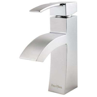 Bernini 4 in. Centerset Single-Handle Bathroom Faucet in Polished Chrome