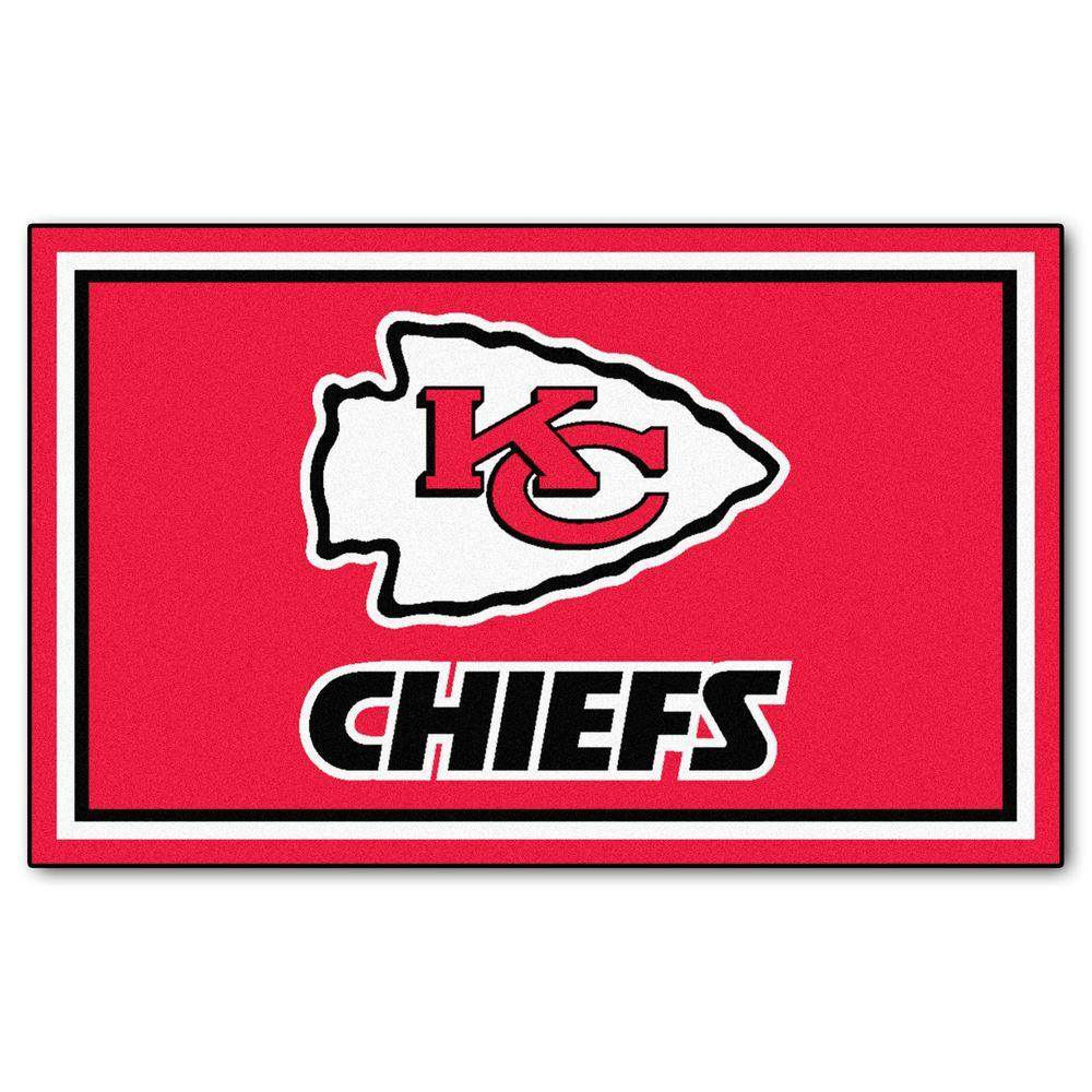 Kansas City Chiefs 4 ft. x 6 ft. Area Rug