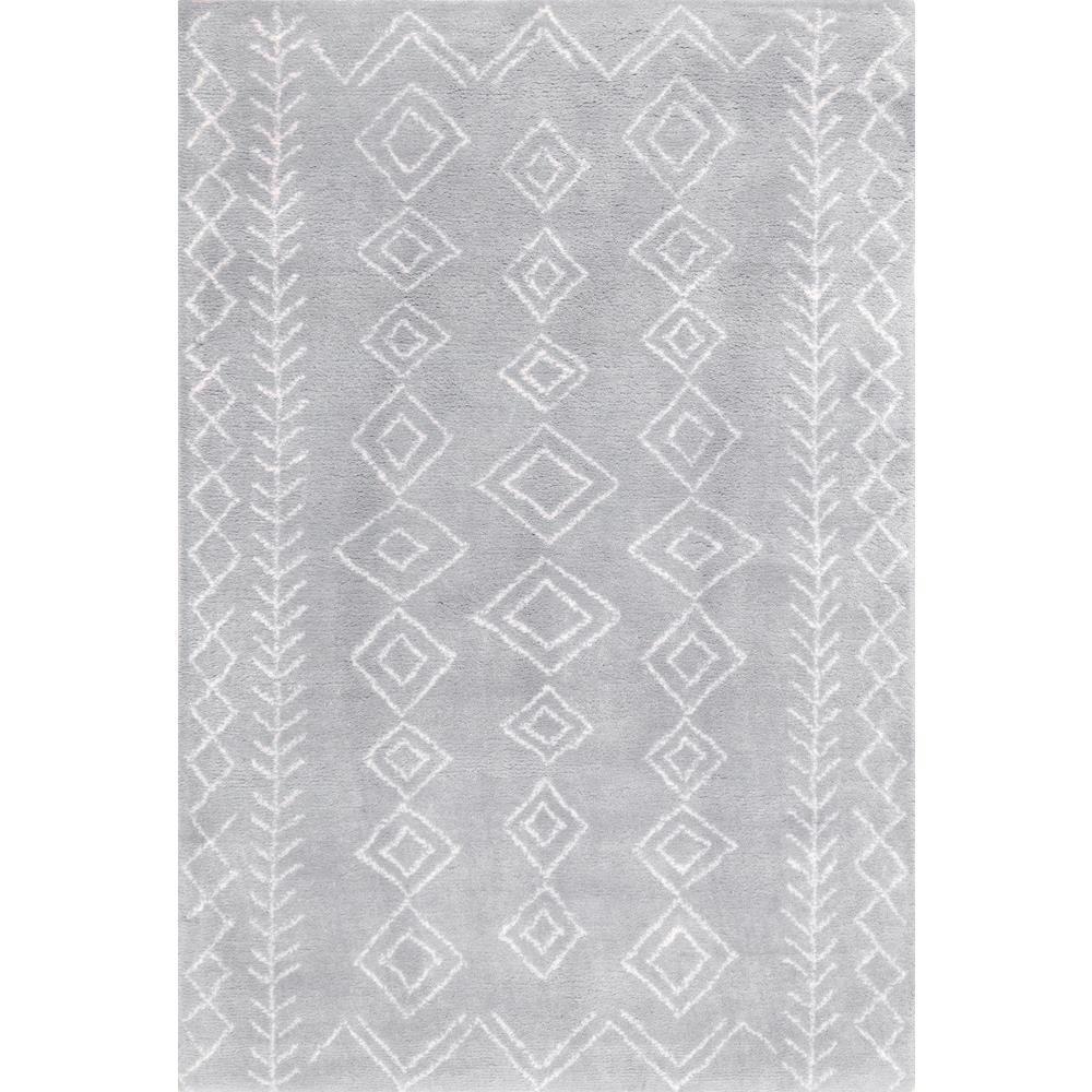 Lauren Moroccan Modern Gray 8 ft. x 10 ft. Area Rug