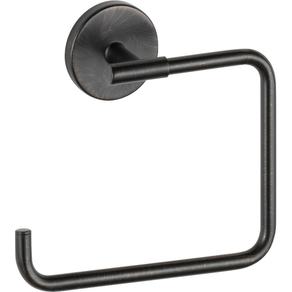 Delta Trinsic Towel Ring in Venetian Bronze