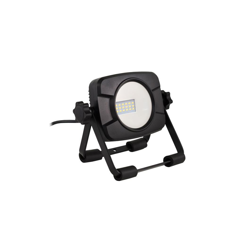 Commercial Electric 1000-Lumen LED Work Light-C1-1000SS - The Home Depot