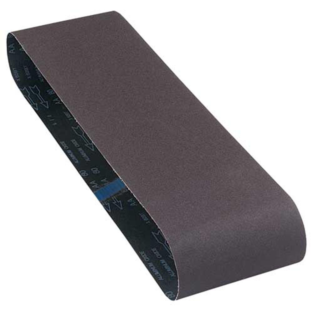 Delta 6 inch x 48 inch 100-Grit Aluminum Oxide Sanding Belt by Delta