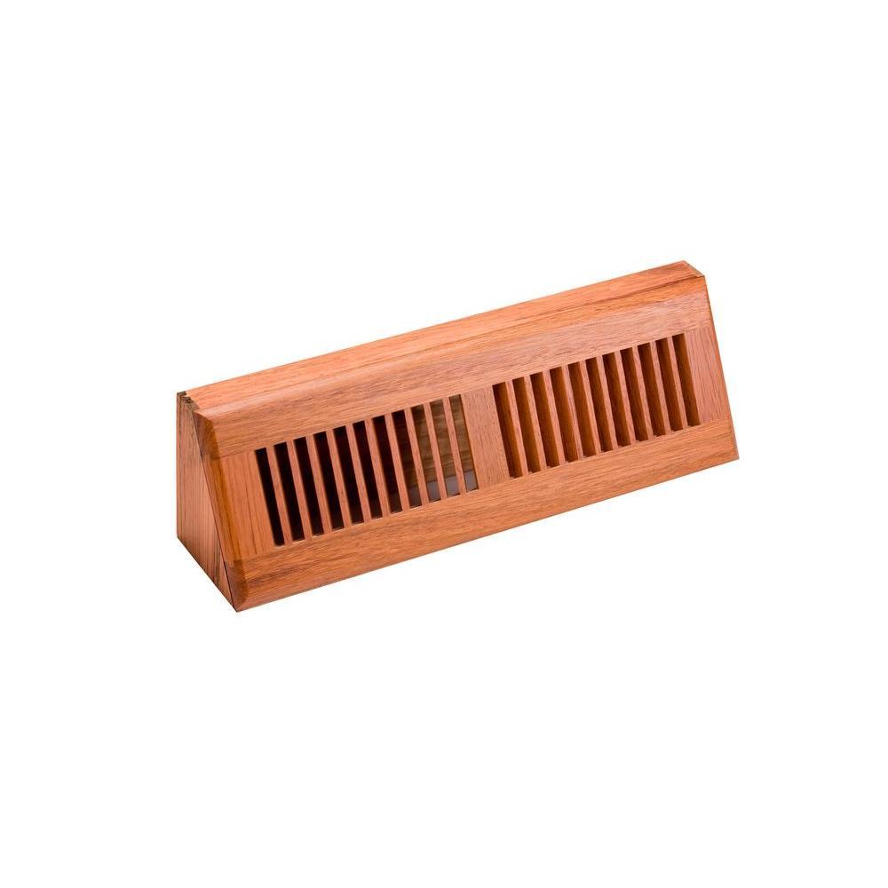 4.5 in. x 15 in. Wood Brazilian Cherry Unfinished Base Board