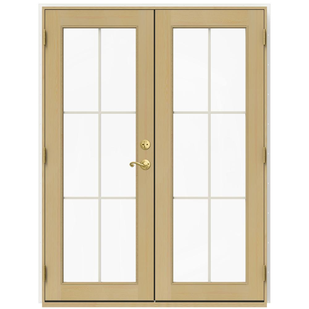 Andersen 60 in x 80 in 400 series frenchwood white for 18 x 80 french door