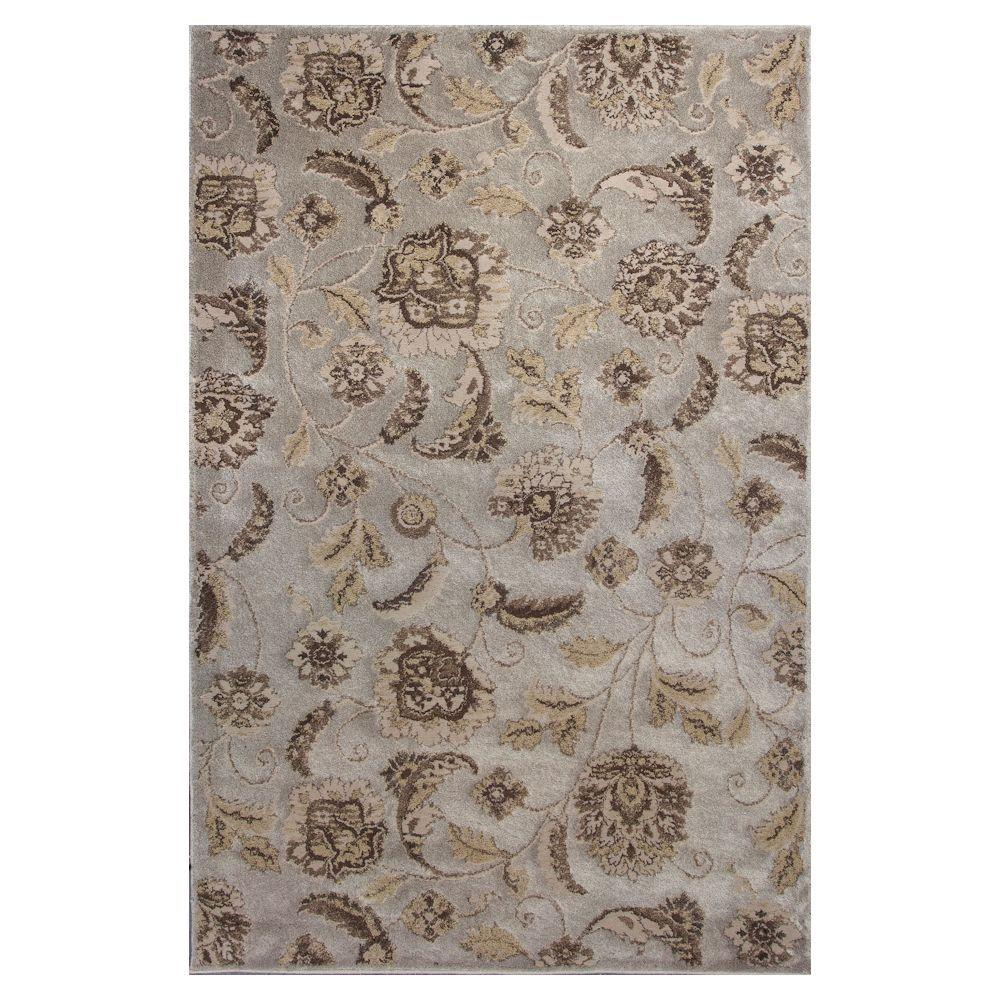 Silver Charisma 5 ft. 3 in. x 7 ft. 8 in.