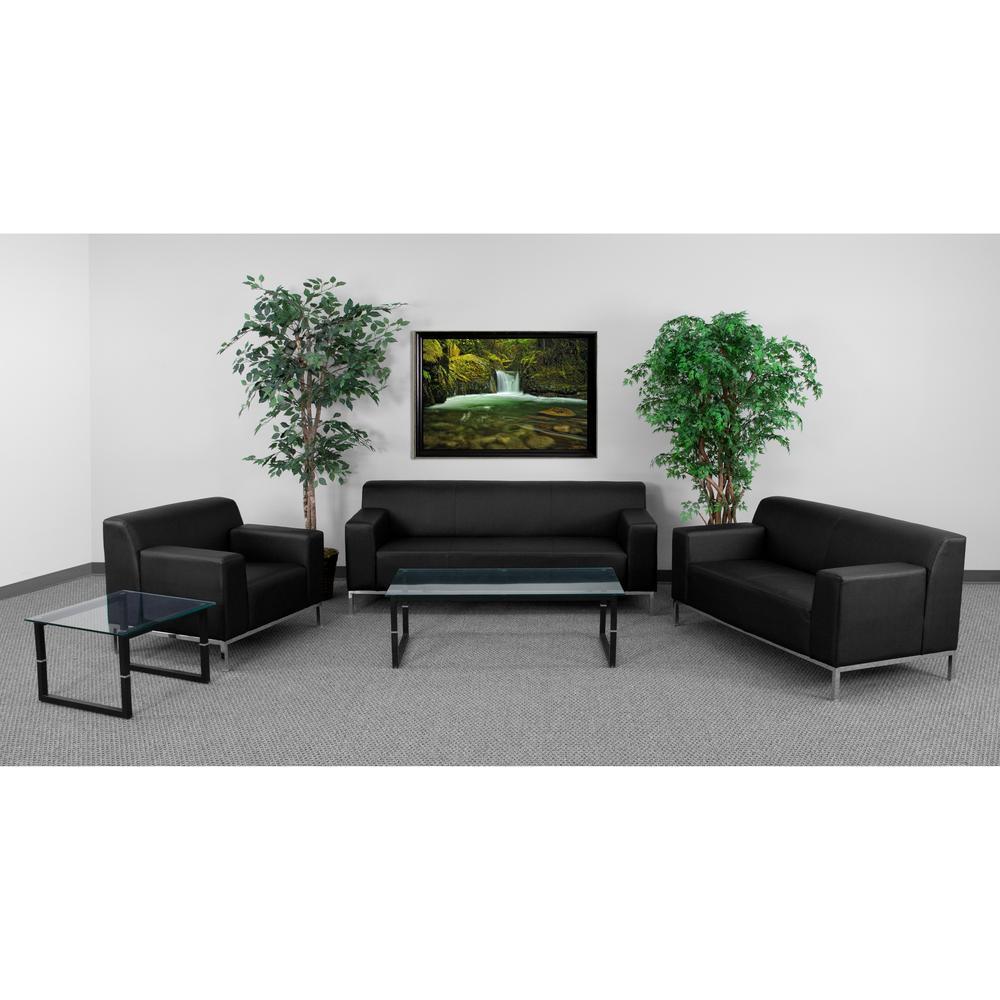 Baxton Studio Sava 2-Piece Gray Living Room Set 150-87618762 ...