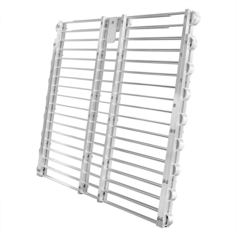Adjust-A-Grate Security Cover Aluminum Adjustable Window