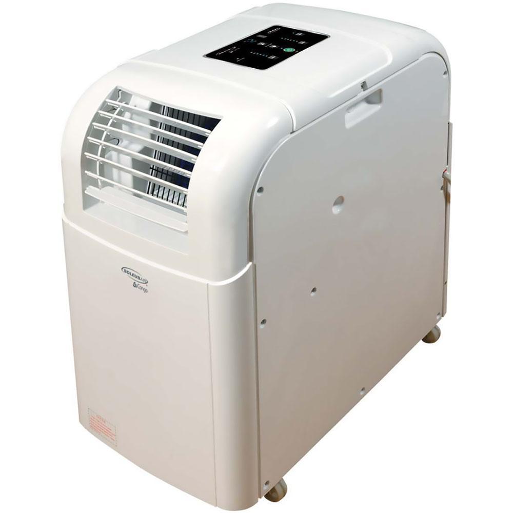 Soleus Air 8000 BTU 206 CFM 3 Speed Portable Evaporative Air Conditioner  For 250 Sq