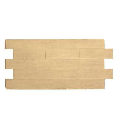 Superior Raised Grain Faux Transitional Panel 1-1/4 in. x 48 in. x 23 in. Unfinished Polyurethane Interlocking Panel