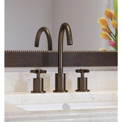 Prima 3 8 in. Widespread 2-Handle Bathroom Faucet in Oil Rubbed Bronze