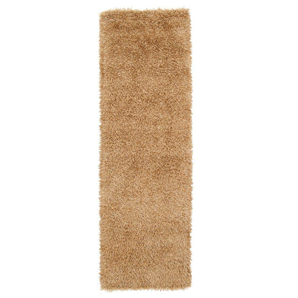 Home Decorators Collection Glitzy Gold 2 ft. 6 in. x 8 ft. Runner