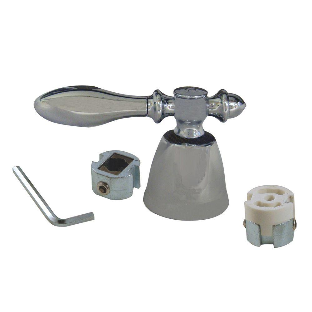 danco lever faucet handle in chrome 80021 the home depot. Black Bedroom Furniture Sets. Home Design Ideas