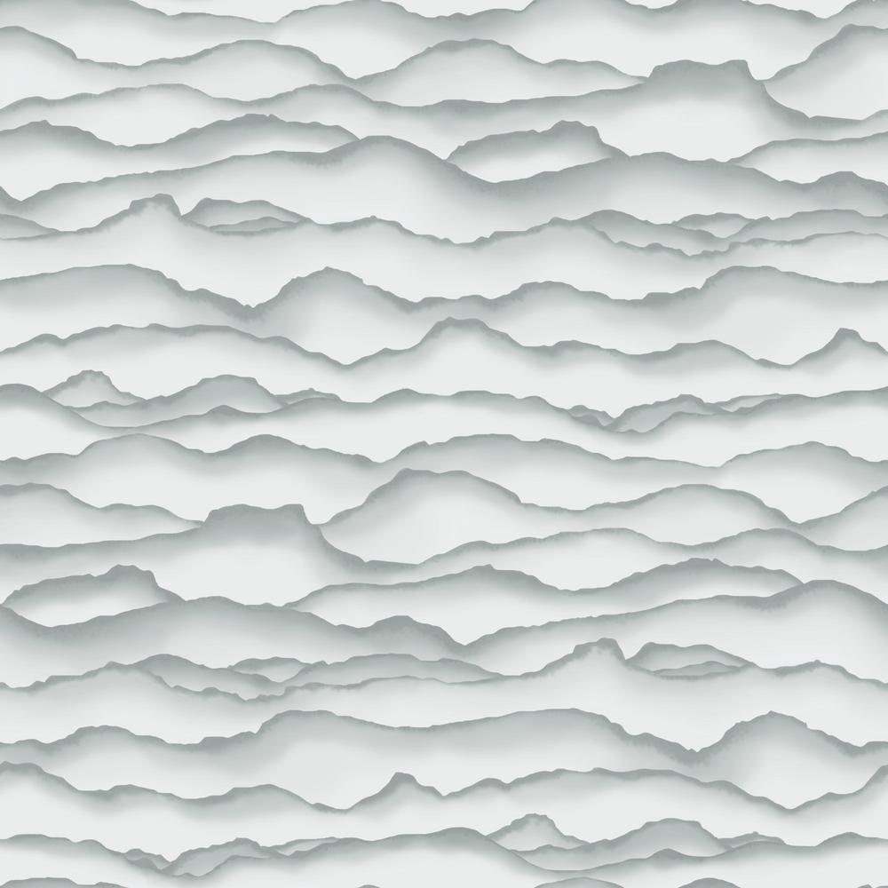 RoomMates RoomMates 28.18 sq. ft. Singed Grey Peel and Stick Wallpaper