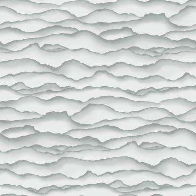 28.18 sq. ft. Singed Grey Peel and Stick Wallpaper