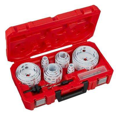 Hole Dozer General Purpose Bi-Metal Hole Saw Set (28-Piece)