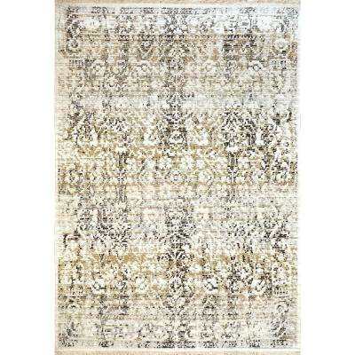 Avery Ivory/Grey 2 ft. 7 in. x 5 ft. Indoor Area Rug