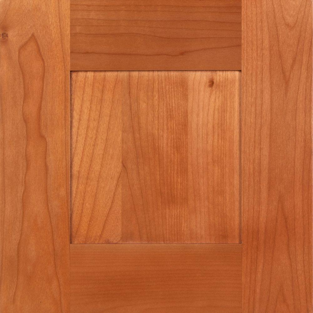 Hargrove 12 3/4 x 12 3/4 in. Cabinet Door Sample in Cinnamon