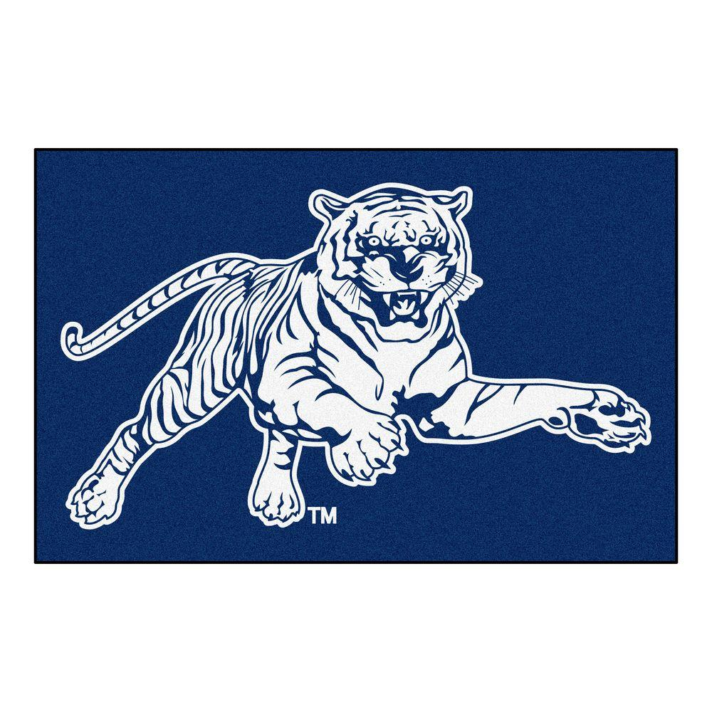 Fanmats Ncaa Jackson State University Blue 1 Ft 7 In X 2