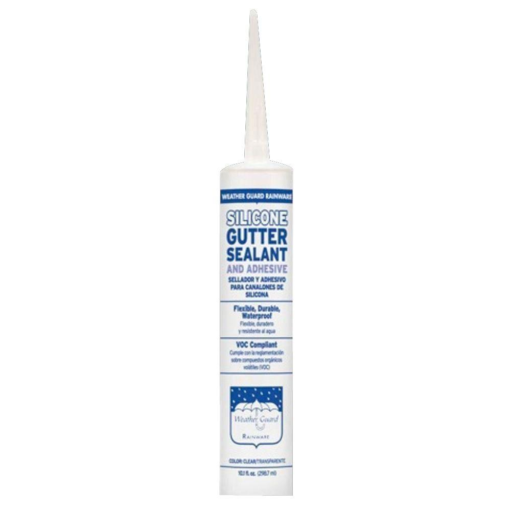 Construction Metals Gutter Sealant 10 Oz Silicone