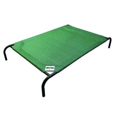 Large Size Steel Pet Bed Brunswick Green