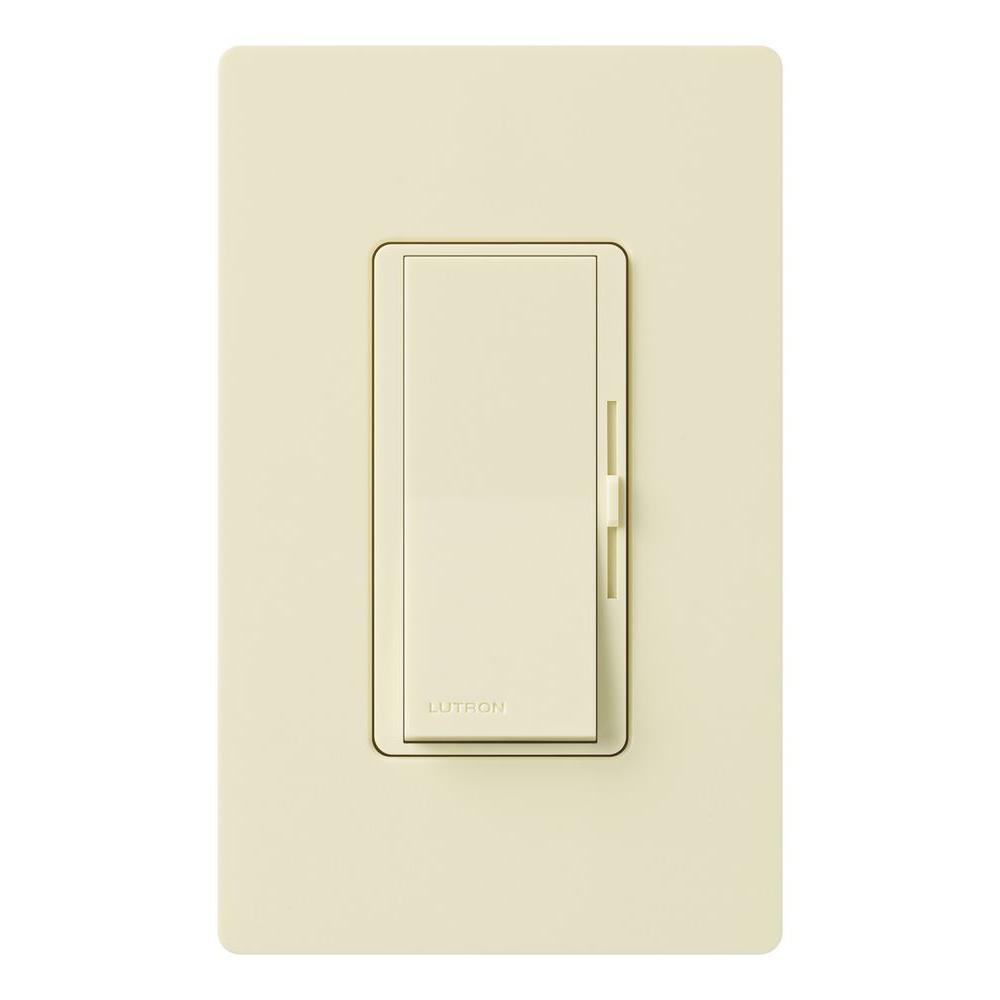 Lutron Diva 1000-Watt 3-Way Preset Dimmer - Almond